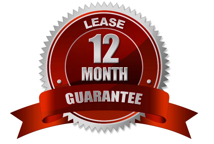 12 month lease guarantee